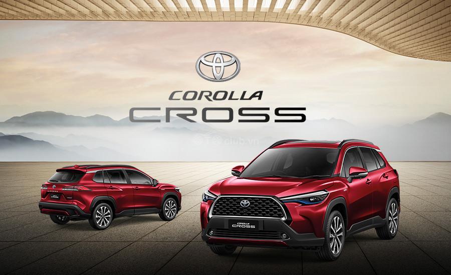 Toyota Corolla Cross ra mắt vào tháng 8 tại thị trường Việt Nam