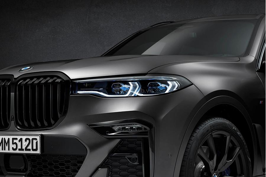 BMW X7 2021 phiên bản bóng đêm, phiên bản giới hạng