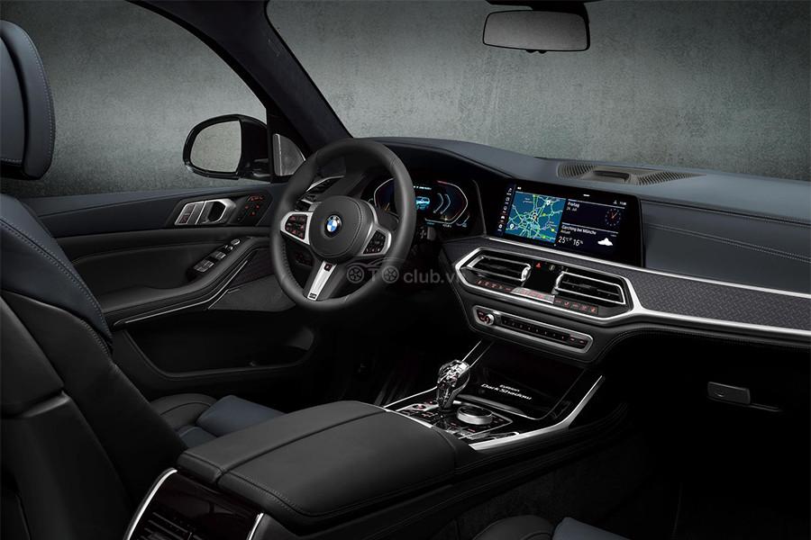 Nội thất BMW X7 Dark Shadow Edition 2021