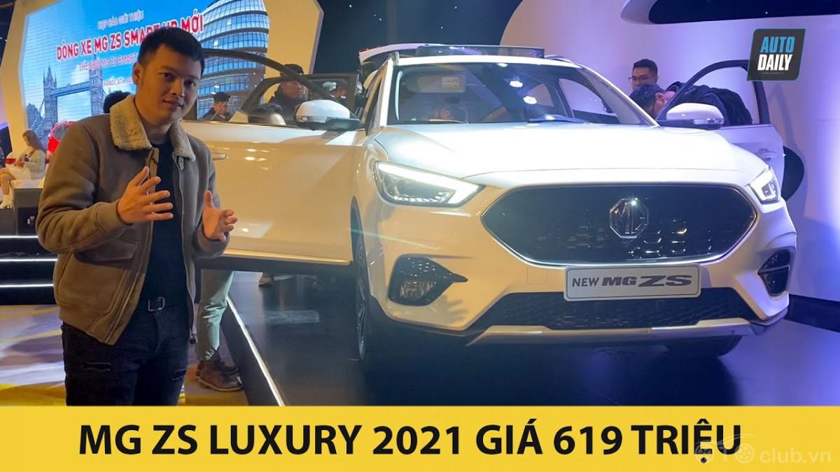 Trải nghiệm nhanh MG ZS 2021 bản Luxury nhập Thái giá từ 619 triệu